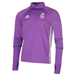 2016-2017 Real Madrid Adidas Training Top (Purple) - Kids