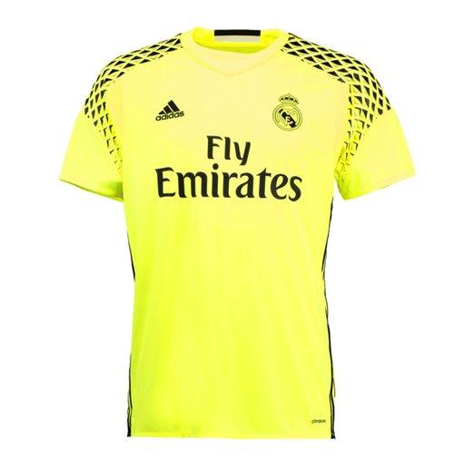 low cost e7b98 e8da7 2016-2017 Real Madrid Adidas Away Goalkeeper Shirt (Kids)