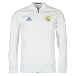 2016-2017 Real Madrid Adidas Anthem Jacket (White)