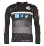 2016-2017 Newcastle Puma Sweat Top (Black)