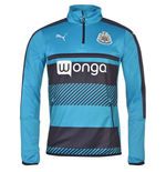 2016-2017 Newcastle Puma Quarter Zip Training Top (New Navy)