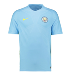 2016-2017 Man City Nike Squad Training Shirt (Blue)