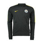 2016-2017 Man City Nike Core Trainer Jacket (Dark Grey)
