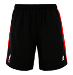 2016-2017 Liverpool Woven Training Shorts (Black)