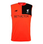 2016-2017 Liverpool Elite Sleeveless Training Vest (Red)