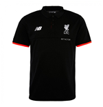2016-2017 Liverpool Elite Polo Shirt (Black)