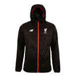 2016-2017 Liverpool Elite Training Rain Jacket (Black) - Kids