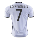 2016-2017 Germany Home Shirt (Schweinsteiger 7)