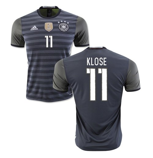 2016-2017 Germany Away Shirt (Klose 11)