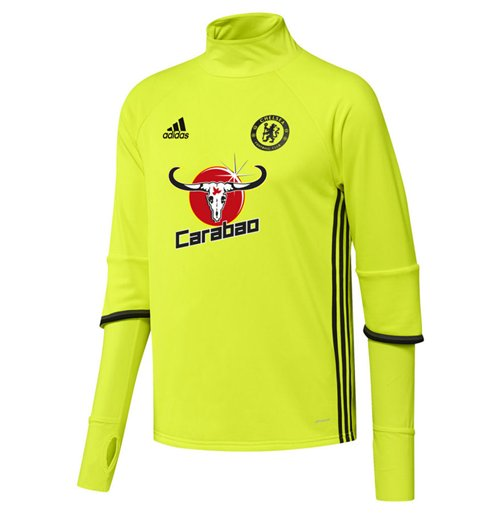 2016-2017 Chelsea Adidas Training Top (Yellow)