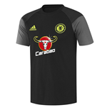 2016-2017 Chelsea Adidas Training Tee (Black)