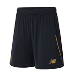 2016-2017 Celtic Away Shorts (Black) - Kids