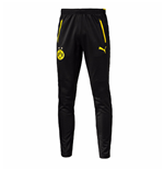 2016-2017 Borussia Dortmund Puma Training Pants with Pockets (Black) - Kids