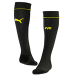 2016-2017 Borussia Dortmund Away Puma Socks (Black)