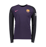 2016-2017 Barcelona Away Nike Long Sleeve Shirt
