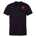 2016-2017 Barcelona Nike Core Polo Shirt (Purple)