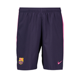 2016-2017 Barcelona Away Nike Football Shorts (Purple)