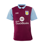2016-2017 Aston Villa Home Football Shirt (Kids)