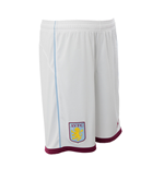 2016-2017 Aston Villa Home Football Shorts (White) - Kids