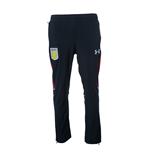 2016-2017 Aston Villa Tracksuit Travel Pants (Black)