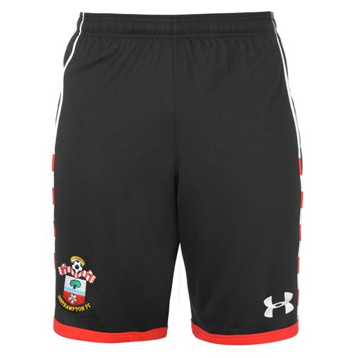 2016-2017 Southampton Home Football Shorts (Black) - Kids