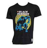 BLACK PANTHER Men's Retro Tee Shirt