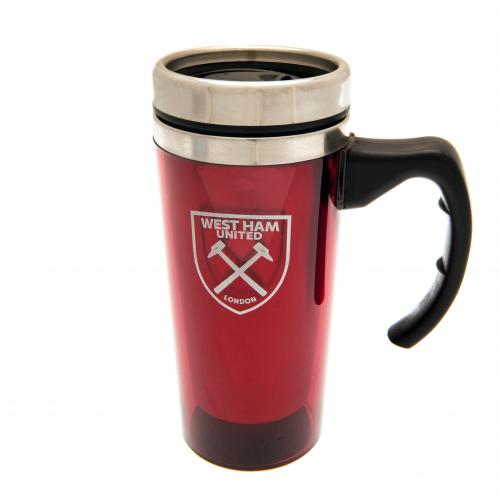 West Ham United F.C. Aluminium Travel Mug