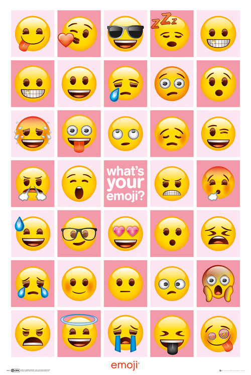 Emoji What's Your Emoji Maxi Poster