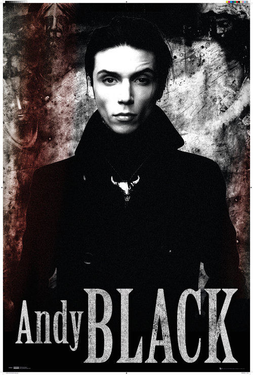Andy Black Stone Maxi Poster
