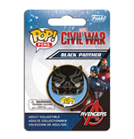 Captain America Civil War POP! Pin Badge Black Panther