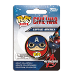 Captain America Civil War POP! Pin Badge Captain America