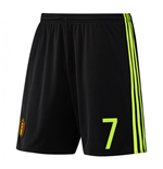 2016-17 Belgium Home Shorts (7) - Kids