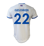 2016-17 Iceland Away Shirt (Gudjohnsen 22)