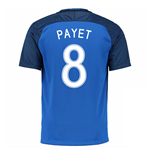 2016-17 France Home Shirt (Payet 8) - Kids