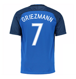 2016-17 France Home Shirt (Griezmann 7) - Kids