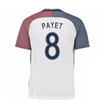 2016-17 France Away Shirt (Payet 8) - Kids