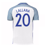 2016-17 England Home Shirt (Lallana 20)