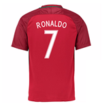 2016-17 Portugal Home Shirt (Ronaldo 7) - Kids