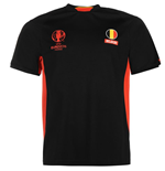 Belgium UEFA Euro 2016 Poly Training Tee (Black)