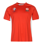 Austria UEFA Euro 2016 Poly Training Tee (Red)