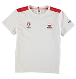 Poland UEFA Euro 2016 Core T-Shirt (White) - Kids