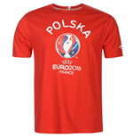 Poland UEFA Euro 2016 Graphic T-Shirt (Red)