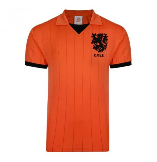 Score Draw Holland 1983 Home Shirt