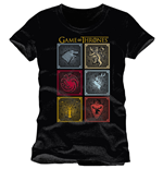 Game of Thrones T-Shirt Badges Of The King