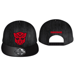 Transformers Adjustable Cap 3D Red Autobot