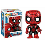 Marvel Comics POP! Vinyl Bobble-Head Spider-Man (Red & Black Costume) 9 cm