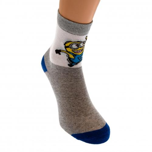 Minions Ladies Socks 1 Pack 6-8 GW