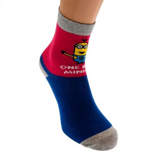 Official Minions Ladies Socks 1 Pack 6 8 Bp Buy Online On