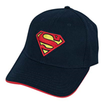 SUPERMAN Logo Red Highlight Hat