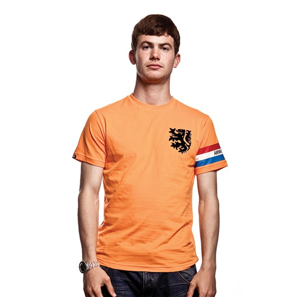 Dutch Captain T-Shirt // Orange 100% cotton